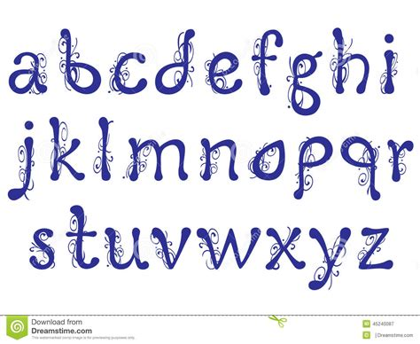 floral pattern font interesting letters of the alphabet with floral pattern