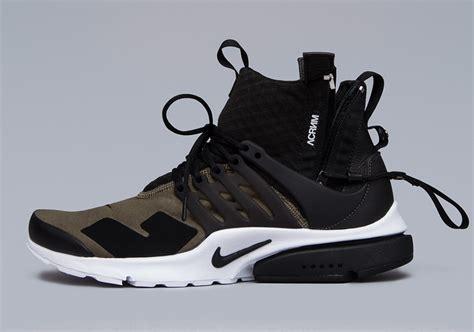 Nike Air Presto Lab Acronym acronym x nike air presto mid collection sneaker bar detroit