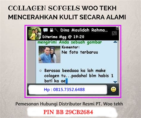 Collagen Woo Tekh collagen softgel woo tekh obat perawatan kulit terbaik