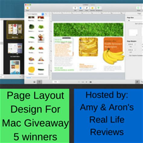 free mac layout design page layout design giveaway for mac users my dairyfree