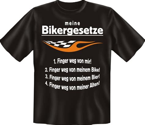 Spr Che Zum Motorrad by T Shirt F 252 R Biker Meine Bikergesetze Funshirt