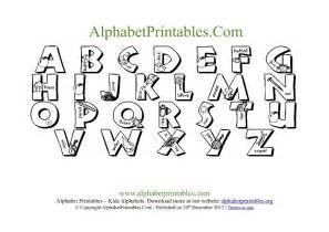 Template Pronunciation by 7 Best Images Of Free Printable Alphabet Letter Templates