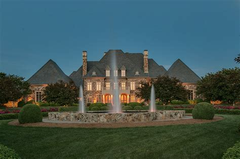 Great Room Floor Plans 16 000 square foot french inspired stone mansion in