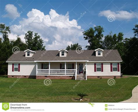 one story one story ranch residential home stock images image 9983044