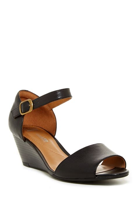 wide width sandals clarks brielle drive wedge sandal wide width available