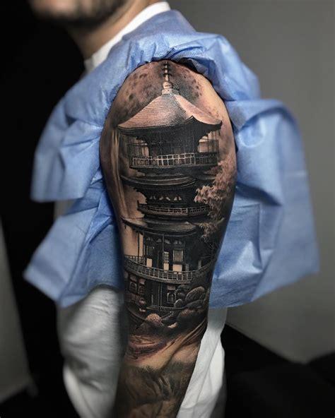 pagoda sleeve pinterest tattoo