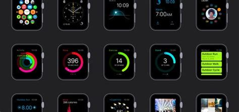 change app layout on iwatch daily freebie apple watch gui for sketch vector