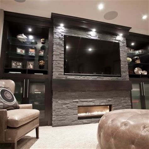 basement fireplace ideas basement design ideas pictures remodels and decor