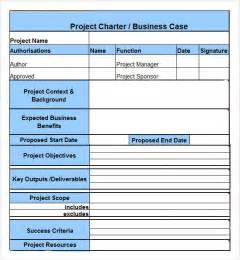 program charter template project charter 7 free pdf doc sle
