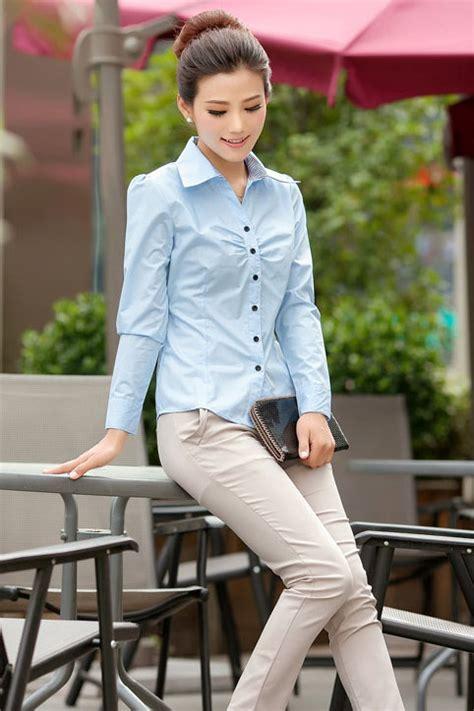 Kemeja Wanitabaju Second baju kemeja kerja wanita 2014 model terbaru jual murah import kerja