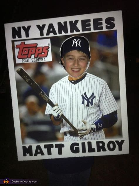 Diy Baseball Cards Template by 15 Coolest Diy Boys Costumes Part 3