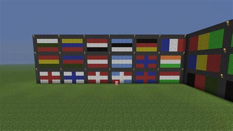 Flags Of The World Minecraft | flags of the world minecraft project