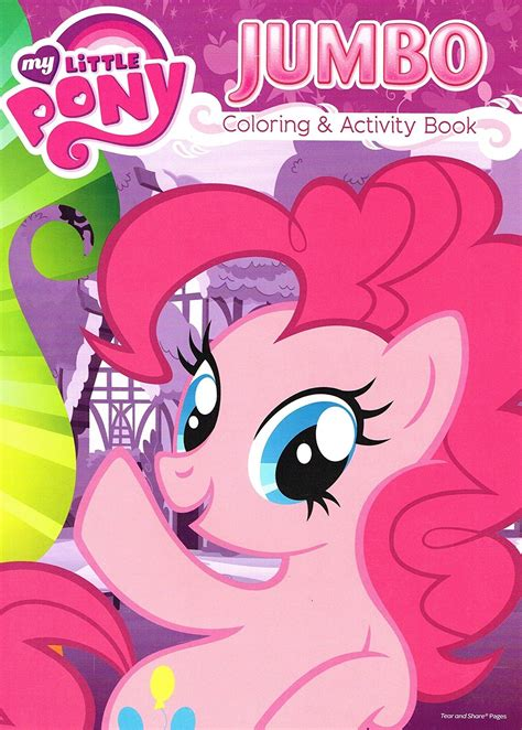 jumbo coloring books my pony jumbo coloring and activity book