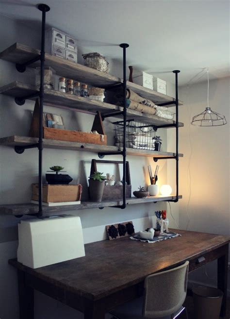 shelving ideas diy 10 diy industrial shelf ideas