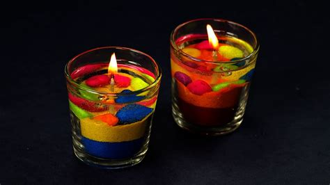 try these 20 unique diwali decoration ideas at your home diy colorful gel candles making diwali decoration ideas