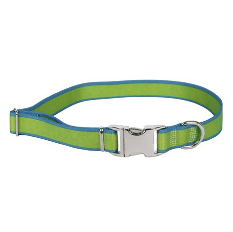 teal collar sterling stripes collection green and teal collar by yellow design