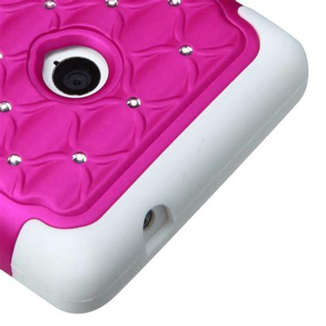 Soft Silikon Nokia 208 bling rhinestone cover impact silicone for nokia