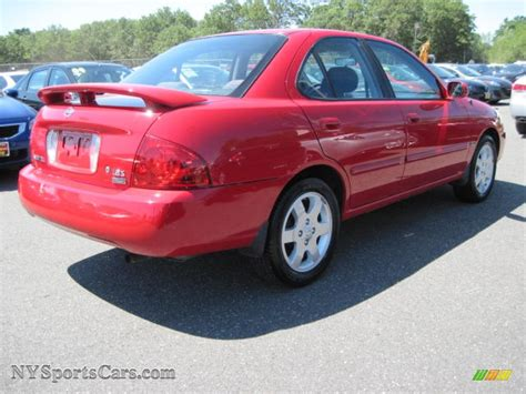 red nissan sentra 2006 nissan sentra 1 8 s special edition in code red photo