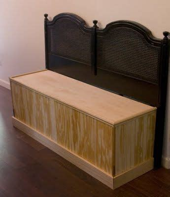 kitchen settee bench headboard bench tutorial the lettered cottage for the