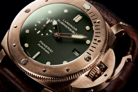 panerai luminor submersible 1950 3 days automatic bronzo 47 mm review