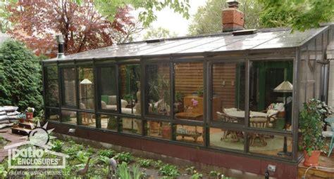 straight eave solarium  patio enclosures sunroom kits
