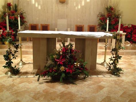 fresh greens  basket  floor  altar christmas