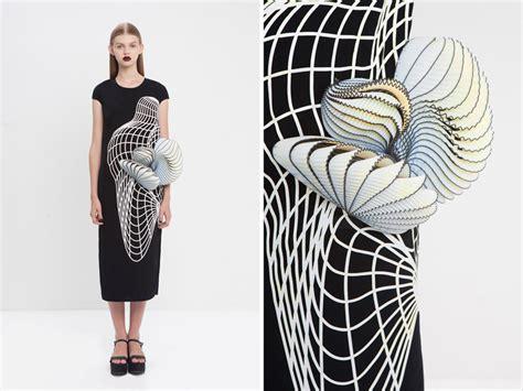 design fashion line design student noa raviv wins best 3d printed fashion