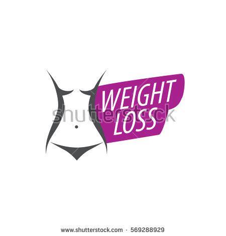 Fatlos Logo Japanese weight loss logo stock vector 569288974