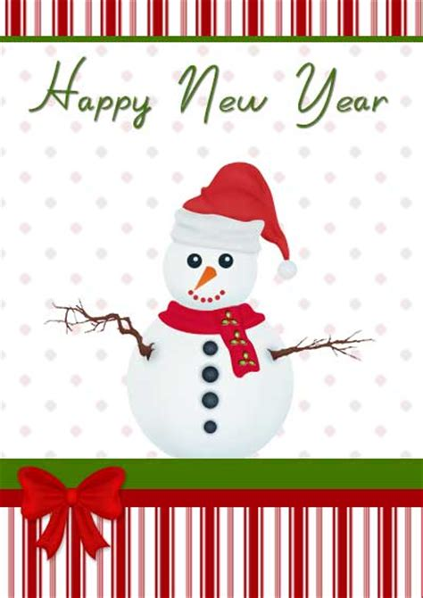 new year free printable cards printable new year cards