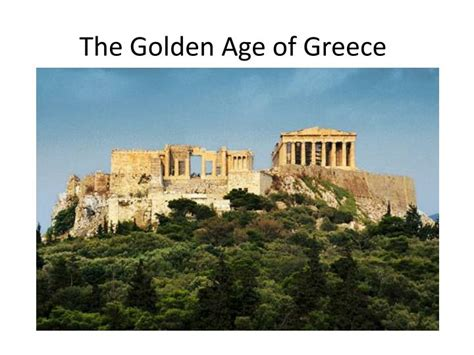 the golden age of ppt the golden age of greece powerpoint presentation id 2881224