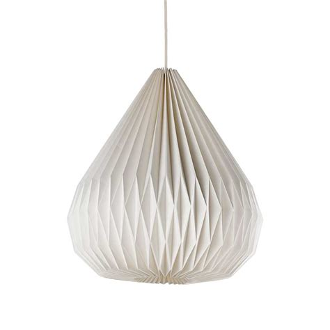 Folded Paper L Shade - marks spencer s folded paper shade decoration uk