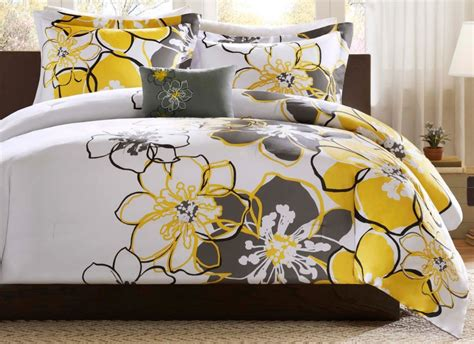 yellow and gray comforter yellow and gray chevron bedding archives bedroom decor ideas