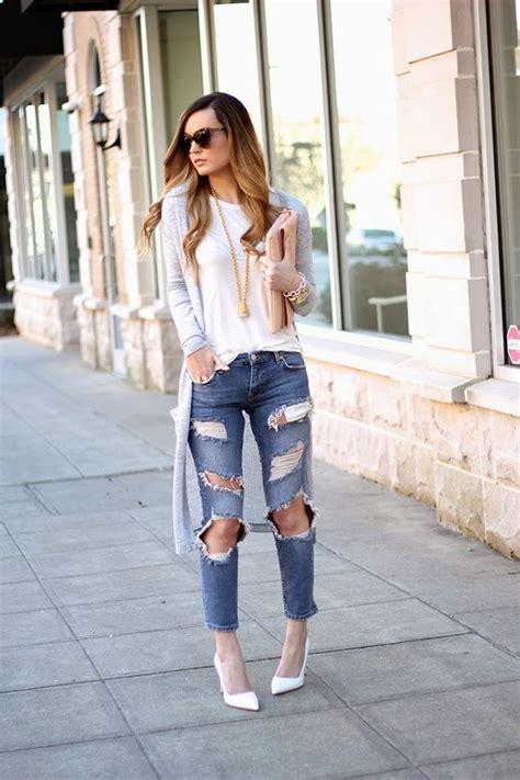 ideas para decorar jeans rotos outfits con jeans rotos 2 curso de organizacion del