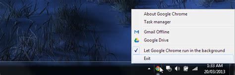 chrome running in background how to turn web apps into class desktop citizens