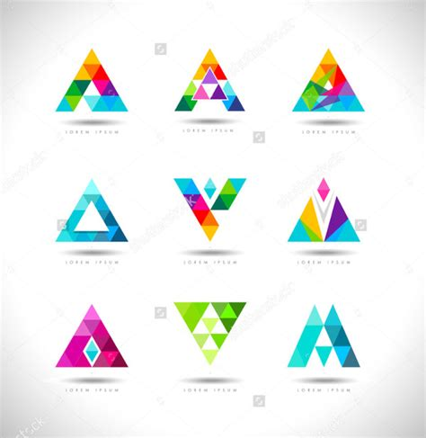 31 triangle logo templates free premium download