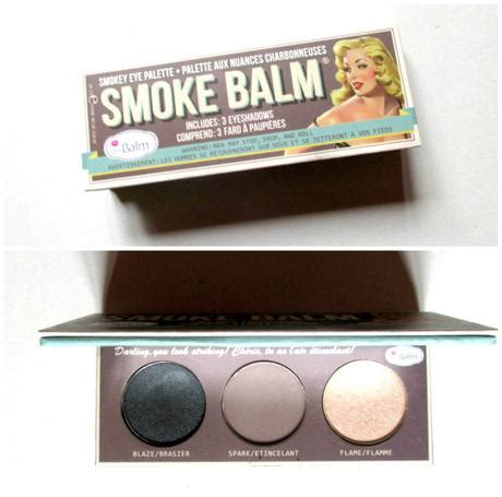 The Balm Smoke Balm With Foil I Avec Feville the palette tag