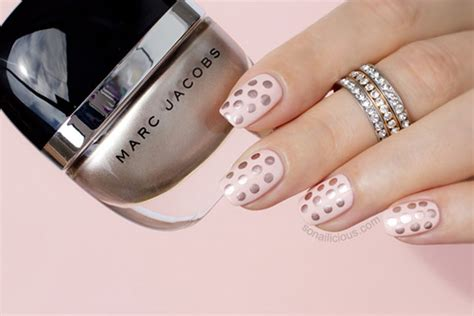 pink champagne  gatsby easy rose gold nails