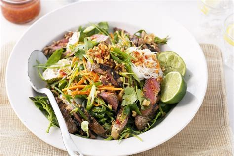Todays Special Asian Beef Noodle Salad by Asian Style Beef Salad Recipe Taste Au