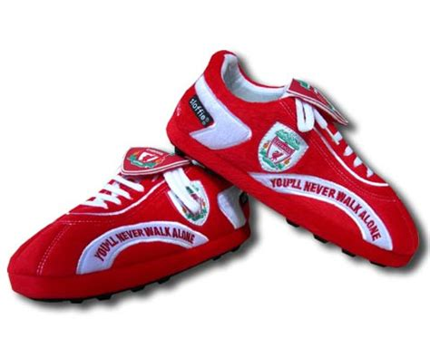 football slippers liverpool football boot slippers