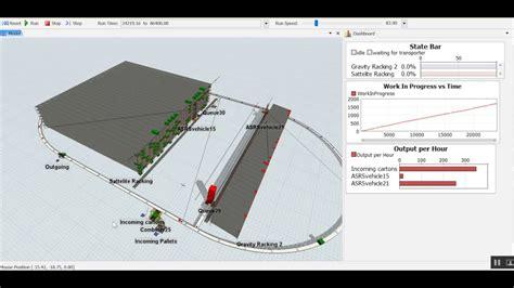 warehouse layout simulation alternative warehouse layout simulation video youtube