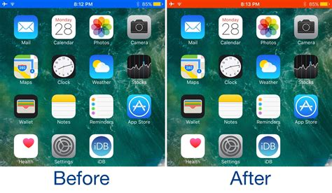 color status bar change the color of your status bar with this tweak