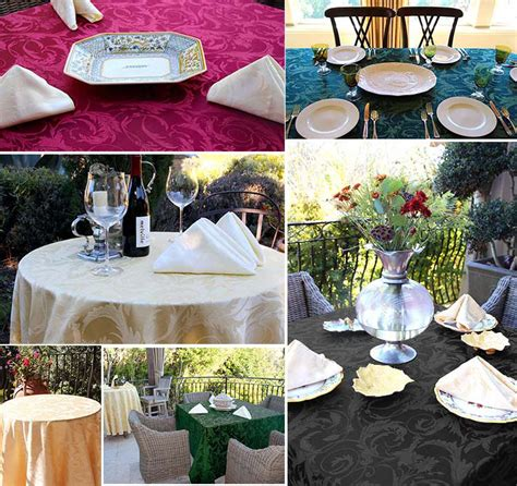 rental table linens wedding rental linens