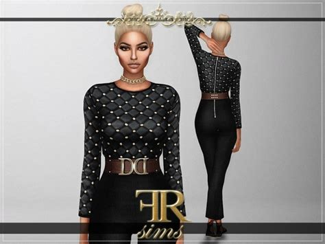 sims 4 royalty dresses royalty jumpsuit at fashion royalty sims 187 sims 4 updates