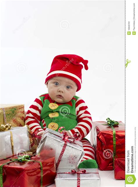 my first christmas presents stock image image 16840781