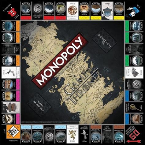Promo Monopoly Attack On Titan Board countdown to of thrones monopoly times square chronicles