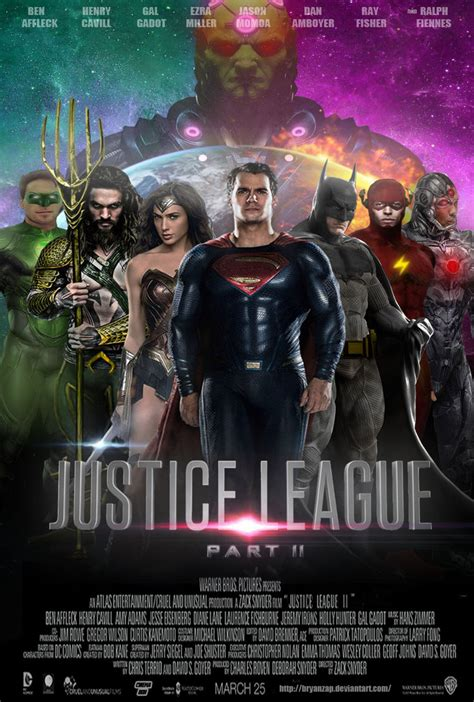 film it part 2 justice league part 2 movie poster by bryanzap on deviantart