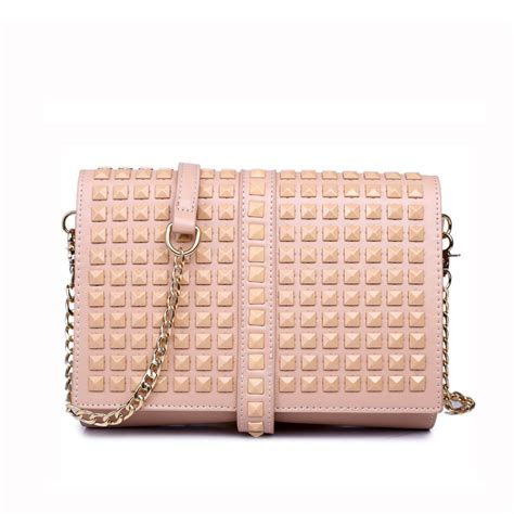 Bags Are Big Carry A Clutch by Lm1613 Miss Lulu Leather Look Large Studded Clutch Bag Pink