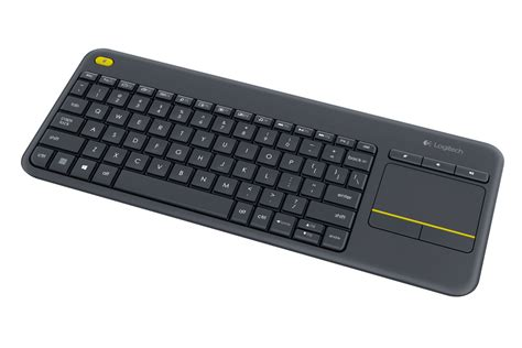 Keyboard Pc Logitech logitech announces the wireless touch keyboard k400 plus techpowerup