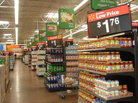 supermarket sections wal mart changes executives to change grocery supplier