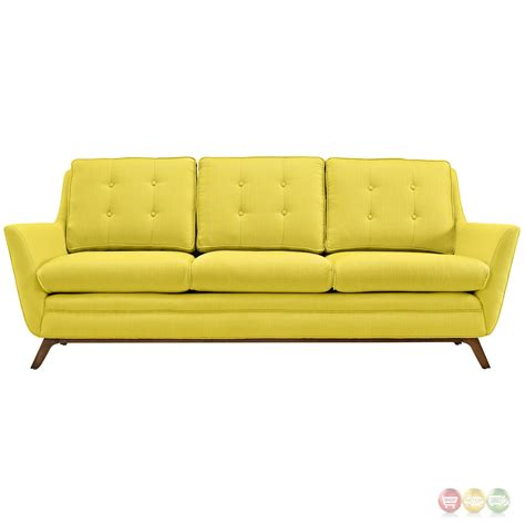 Beguile Contemporary Button Tufted Upholstered Sofa Sunny Contemporary Tufted Sofa